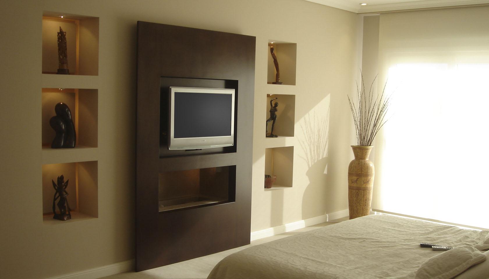 diseño de interior, revestimiento interior en madera, diseño interior de habitaciones