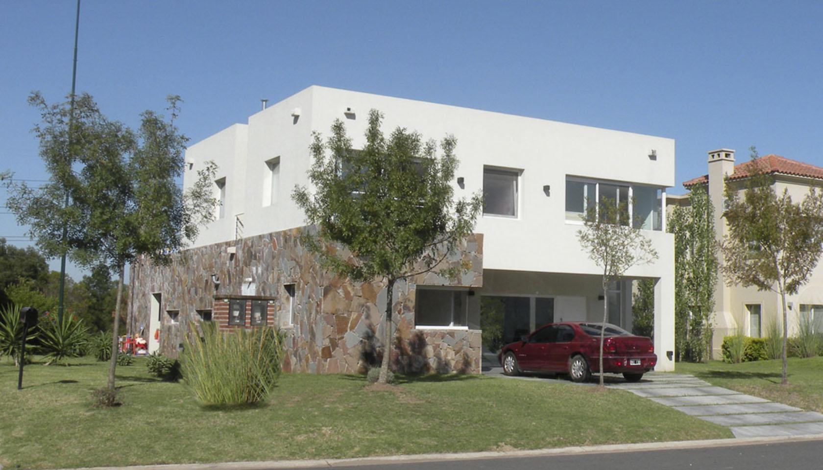 casas blancas, arquitectura minimalista