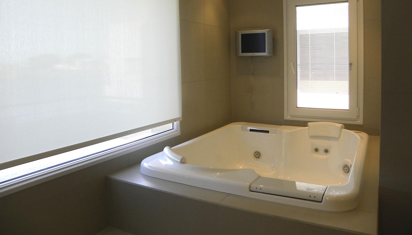 baños lujosos, baños con hidromasaje