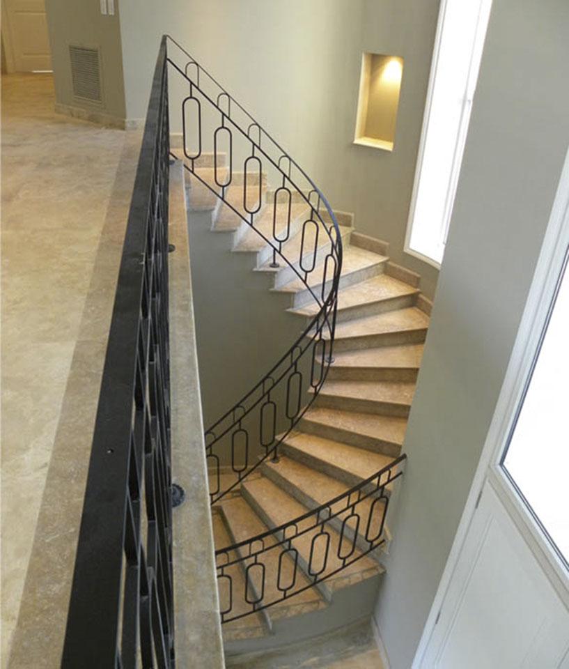 barandas clásicas, diseño de interiores