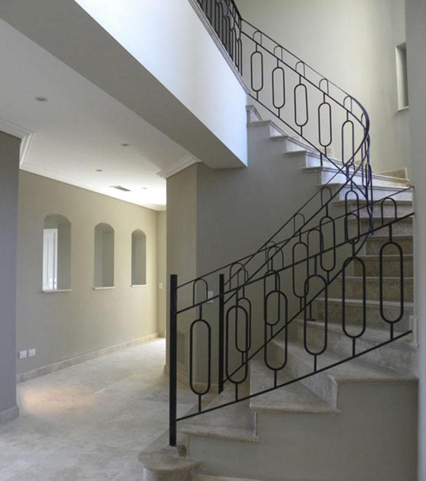 diseño de escaleras, escaleras circulares