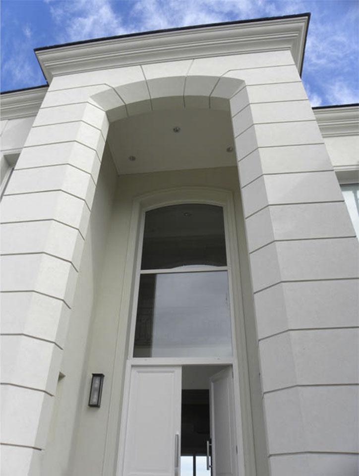 fachadas neoclásicas francesas, ingresos imponentes en viviendas