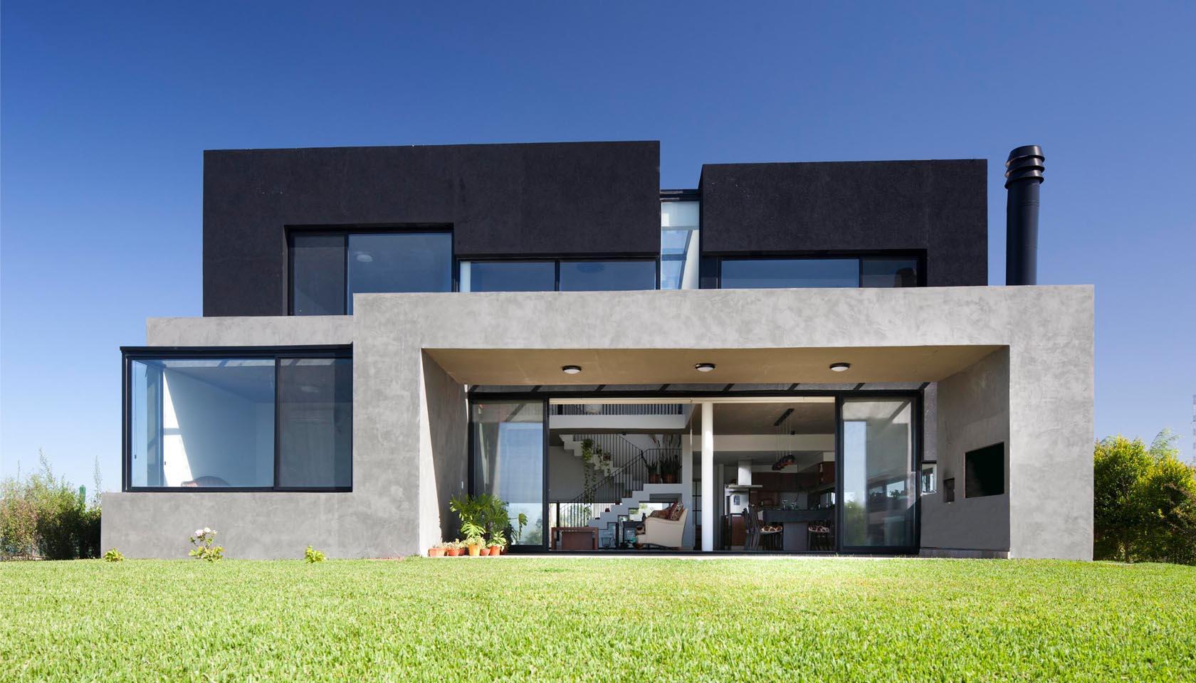 galerías modernas, arquitectura volumétrica