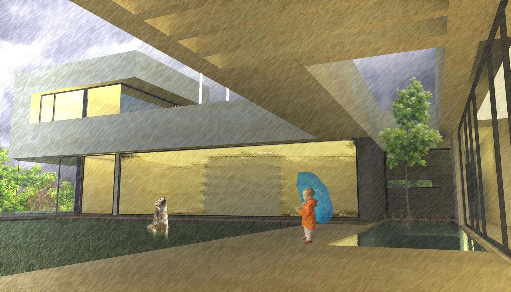 galerías modernas, pérgolas, diseño bioclimático