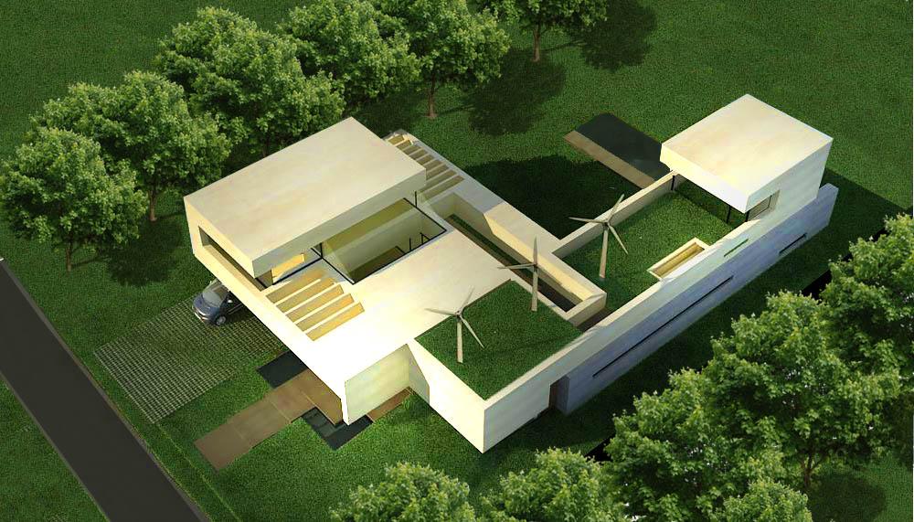 arquitectura verde, diseño inteligente, diseño con energías alternativas