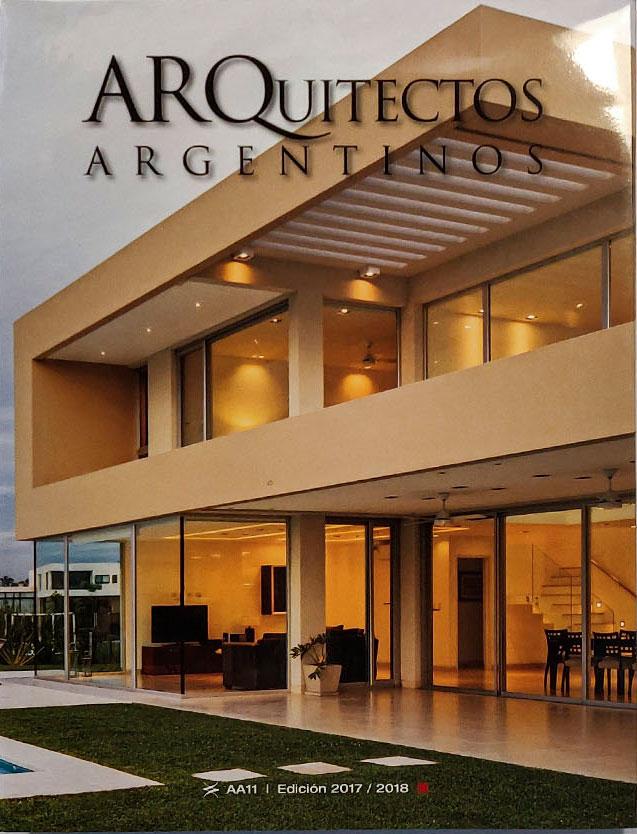 Publicación en Libro Arquitectos argentinos 2018