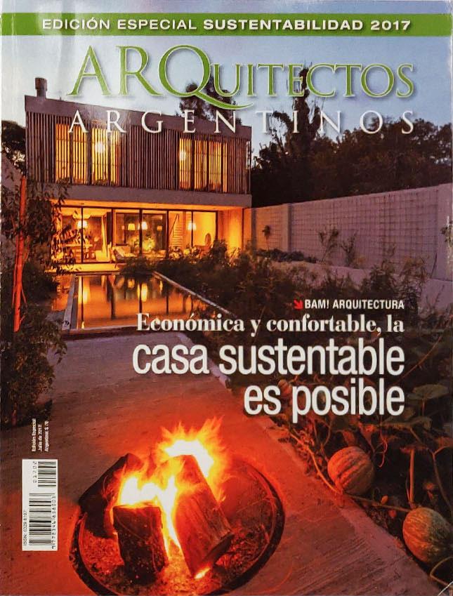 Publicación en revista Arquitectos argentinos 2017