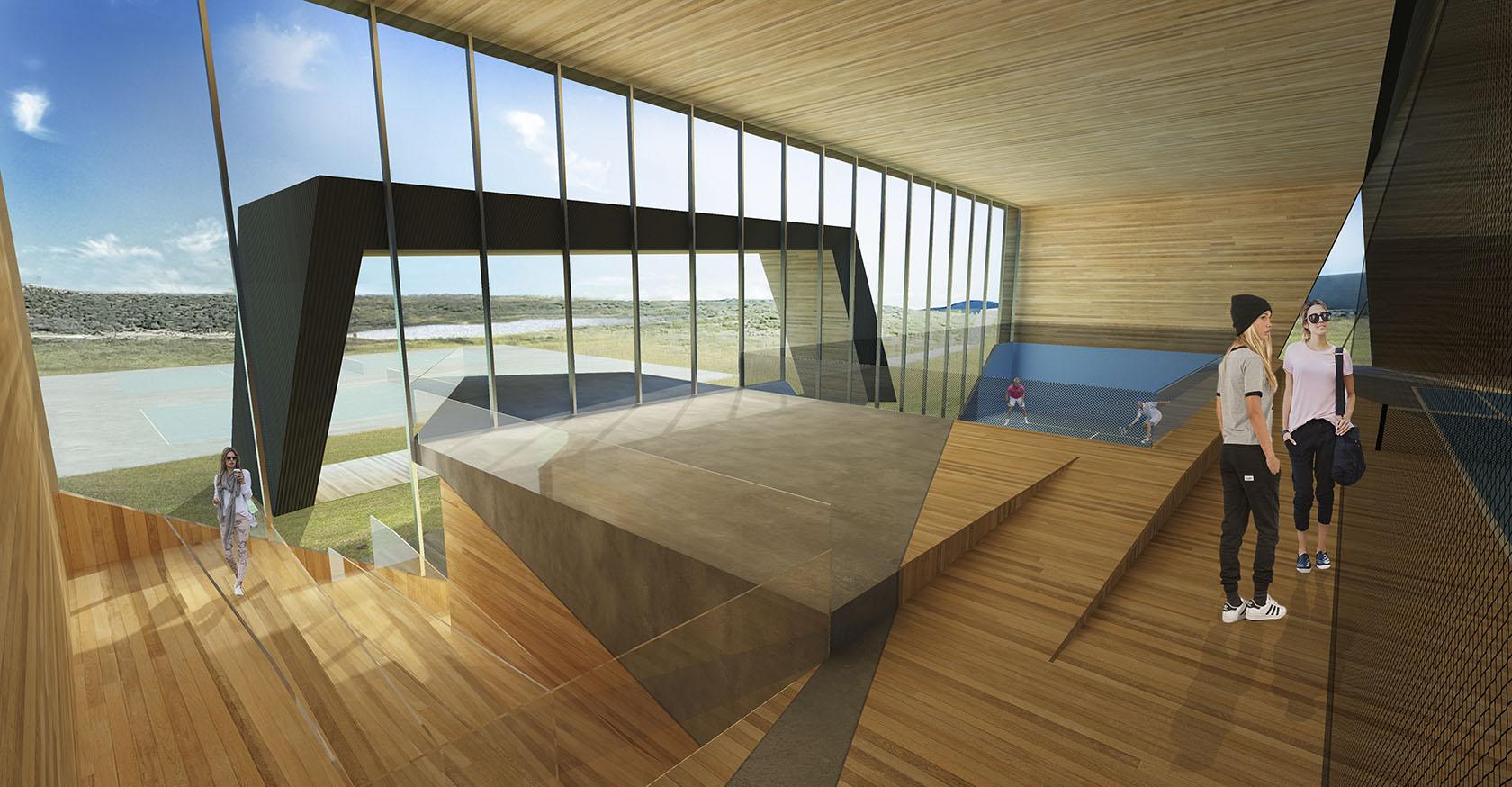 Interiores modernos, revestimiento en madera de espacios contemporáneos