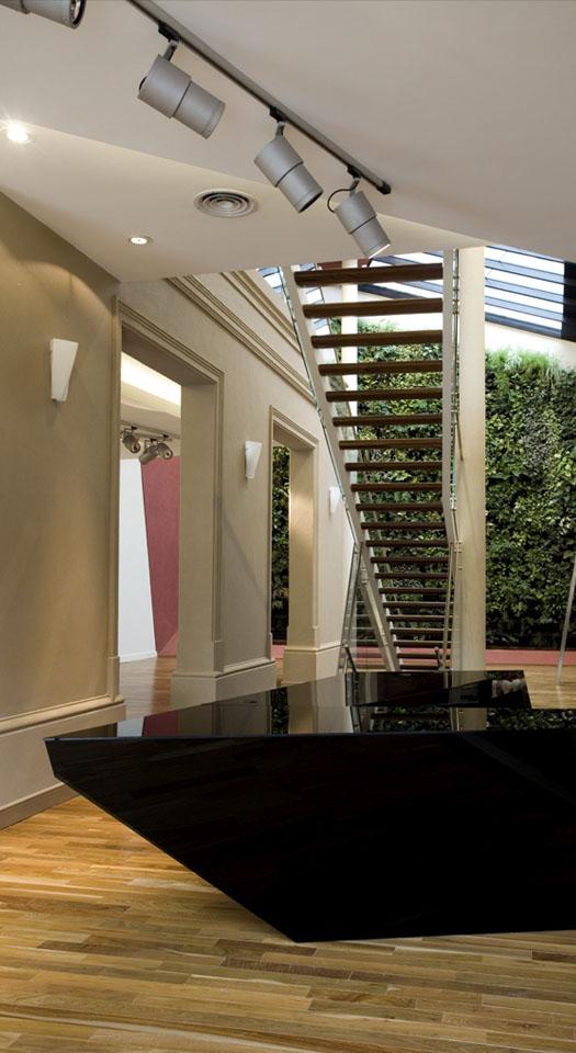 Diseño de mostradores modernos, muebles modernos en locales